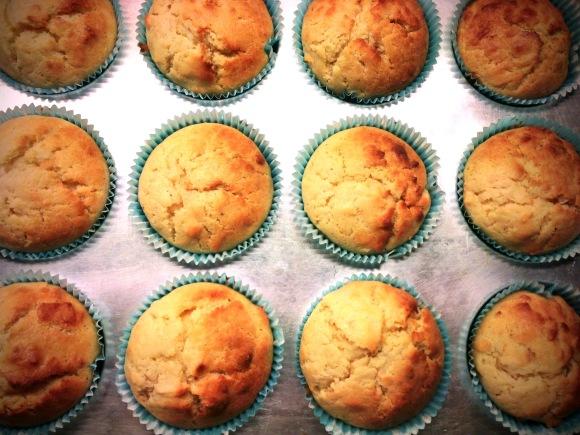 Coco-Buttermilk Muffins