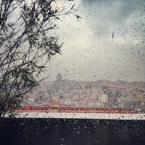 Istanbul on a rainy February Day // by Fructopia