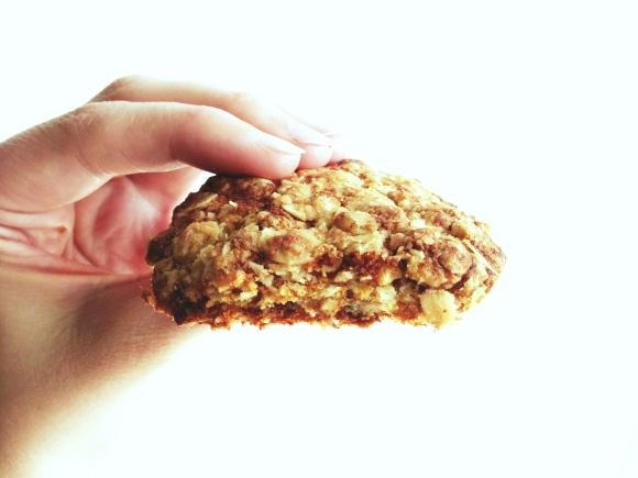 Oatmeal-Coconut-Cookies Low in Fructose // Fruktosearme Haferflocken-Kokosnuss-Kekse // by Fructopia