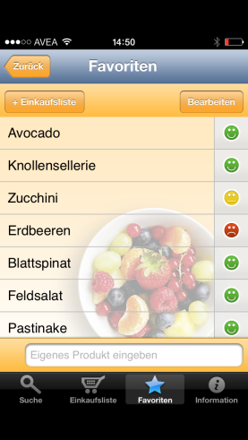 "Review: iPhone App ""Fructosefrei"" // Produkttest: iPhone App ""Fructosefrei"" // by Fructopia"